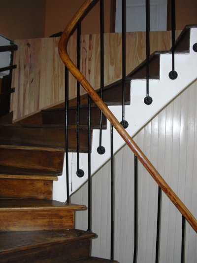 Derni re finition de la mont e d 39 escalier la grande aventure r nover no - La montee des escaliers ...