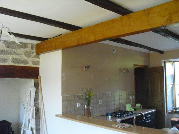 Blog de gevaudan15 page 152 la grande aventure r nover notre maison s - Eclaircir poutre bois ...