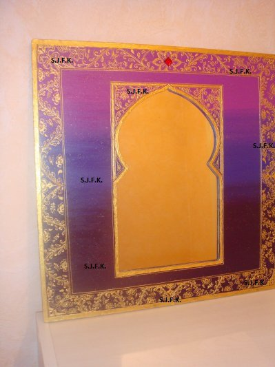 Miroir oriental el firdaws creations for Miroir oriental