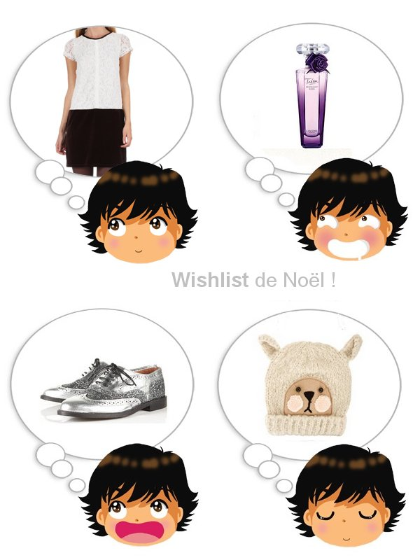 Wishlist de No�l !